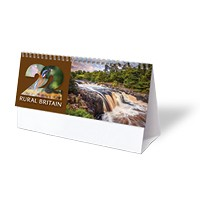 Rural Britain Desk Calendar